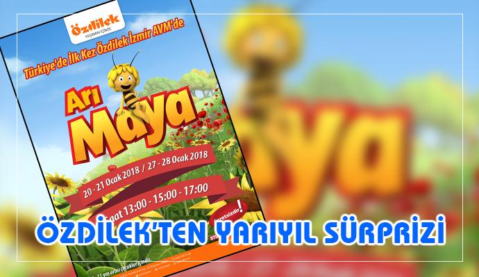Özdilek İzmir AVM Yarıyıl Tatilinde Çocukları Arı Maya Etkinliğine Bekliyor