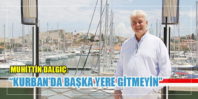 Çeşme Belediye Başkanı Muhittin Dalgıç'dan Davet Var