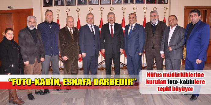 """""""FOTO-KABİNLER ESNAFA DARBEDİR"""""""