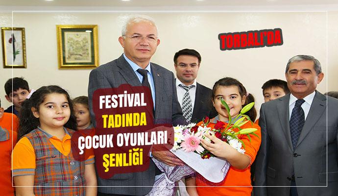 TORBALI'DA FESTİVAL TADINDA ÇOCUK OYUNLARI ŞENLİĞİ…
