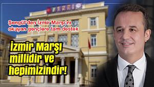 AK PARTİ'DEN İZMİR MARŞI'NA TAM DESTEK