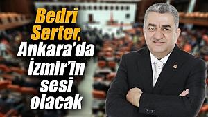 Bedri Serter, Ankara'da İzmir'in sesi olacak