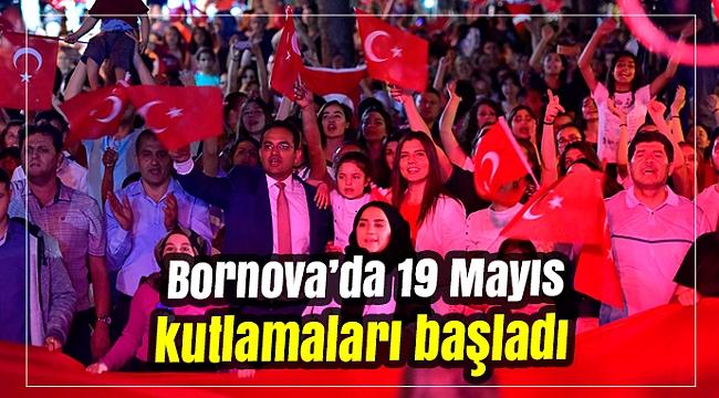 Bornova'da 19 Mayıs kutlamaları başladı