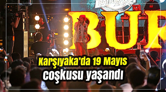 Karşıyaka'da 19 Mayıs coşkusu yaşandı