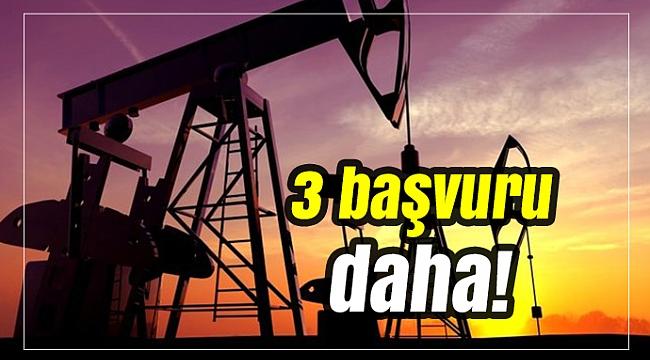 Petrol aramak için TPAO'dan 3 başvuru daha!