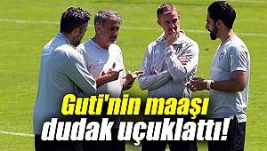 Beşiktaş'ta Guti'nin maaşı dudak uçuklattı!