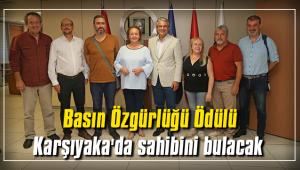 Basın Özgürlüğü Ödülü Karşıyaka'da sahibini bulacak
