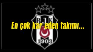 En çok kar eden Beşiktaş oldu