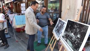 Esnaf Vitrinlerinde Fotoğraflarla Eski Bornova