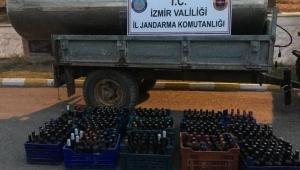 İzmir'de kaçak içki operasyonu!
