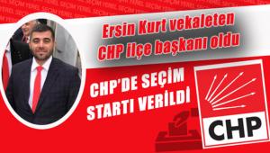 CHP'yi vekaleten Ersin Kurt yönetecek