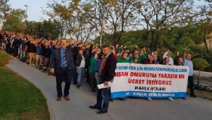 Ege Serbest Bölge'de 550 işçinin grev ilanı!