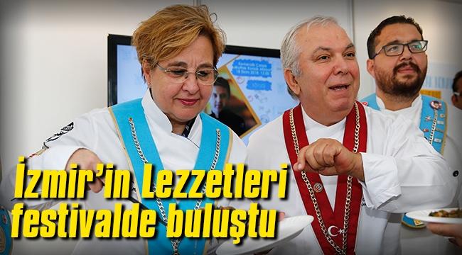 İzmir'in Lezzetleri festivalde buluştu