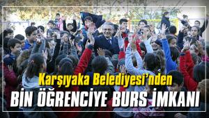 Karşıyaka Belediyesi'nden bin öğrenciye burs imkanı