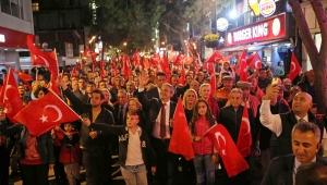 Karşıyaka'dan Cumhuriyet'e muhteşem kutlama