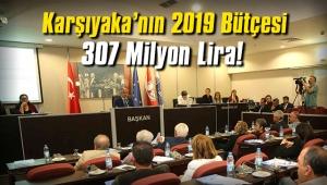 Karşıyaka'nın 2019 Bütçesi 307 Milyon Lira!