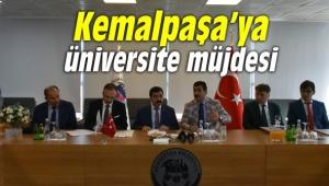 Kemalpaşa'ya üniversite müjdesi... Protokol tamam