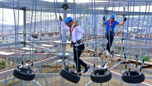 Macera Park açılıyor