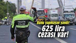 625 lira cezası var!