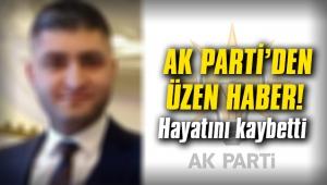 AK Parti'den üzücü haber! Hayatını kaybetti