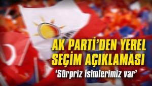 AK Parti'den yerel seçimlerle ilgili aday açıklaması