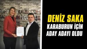 AK Partili Deniz Saka, Karaburun için başvurdu