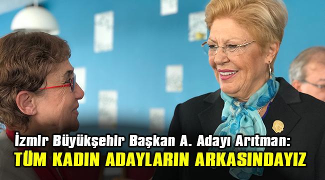 ARITMAN'DAN KADIN ADAY ADAYLARA DESTEK