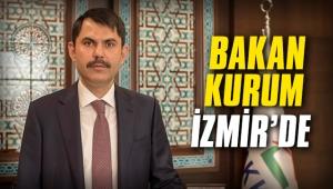 Bakan Kurum İzmir'de