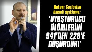 Bakanı Soylu'dan uyuşturucu ölümleri ile ilgili önemli açıklama