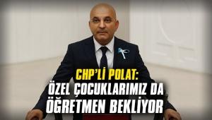CHP'Lİ POLAT: