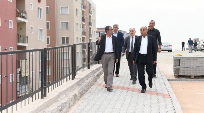 Çiğli'de üst yapı hizmetleri