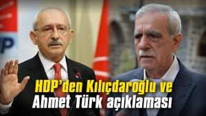 HDP'den, Kılıçdaroğlu ve Ahmet Türk açıklaması!