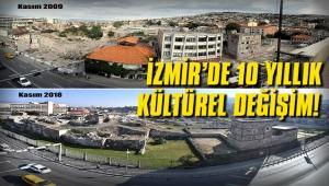 İzmir Agora'nın yıllar içerisindeki değişimi...
