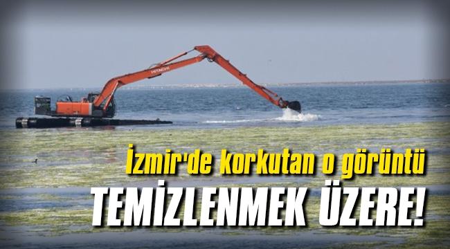 İzmir'de kokutan o görüntü temizlenmek üzere!
