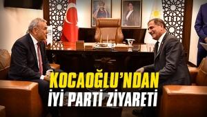 Kocaoğlu'ndan İYİ Parti ziyareti