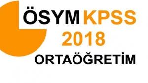 KPSS Ortaöğretim sınavı sonuçları açıklandı!