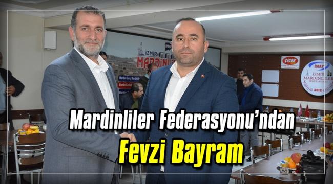 Mardinliler Federasyonu'ndan  Fevzi Bayram