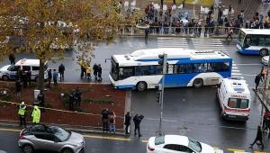 Ankara'da feci kaza! Belediye otobüsü yayalara çarptı