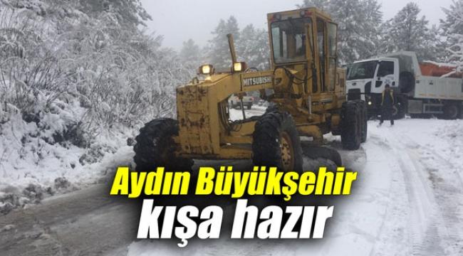 Aydın Büyükşehir Belediyesi kış ayına hazır