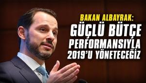 Bakan Albayrak: Güçlü bütçe performansıyla 2019'u yöneteceğiz
