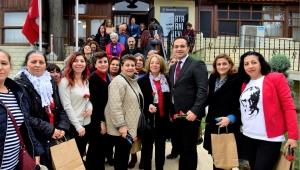 Bornova Ata Anı Evi'nde Ata'ya teşekkür
