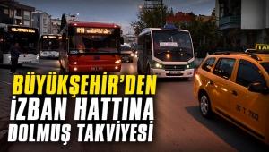 Büyükşehir'den İZBAN hattına minibüs takviyesi