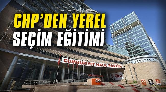 CHP'den yerel seçim eğitimi