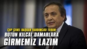 CHP Genel Başkan Yardımcısı Torun: Bütün kılcal damarlara girmemiz lazım