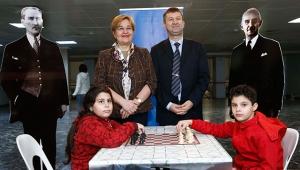İsmet İnönü satranç turnuvası yoğun ilgi gördü