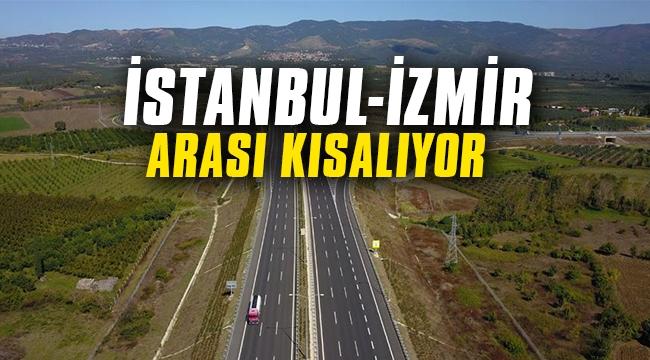 İstanbul-İzmir arası yolculuk süresi kısalıyor