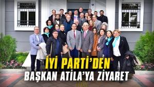 İyi Parti'den Başkan Atila'ya ziyaret