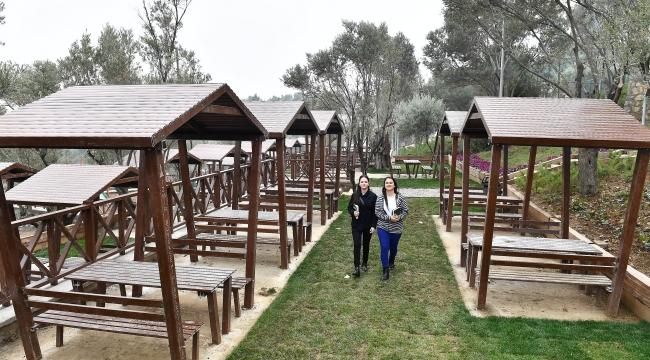 İzmir'in yeni 'Zeytin Park'ı Cumartesi açılıyor
