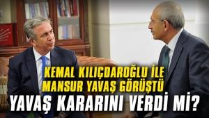Kemal Kılıçdaroğlu ile Mansur Yavaş görüştü