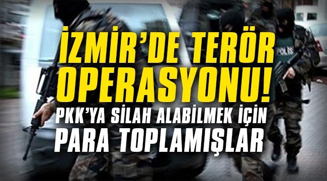 PKK'ya silah almak için para toplamışlar